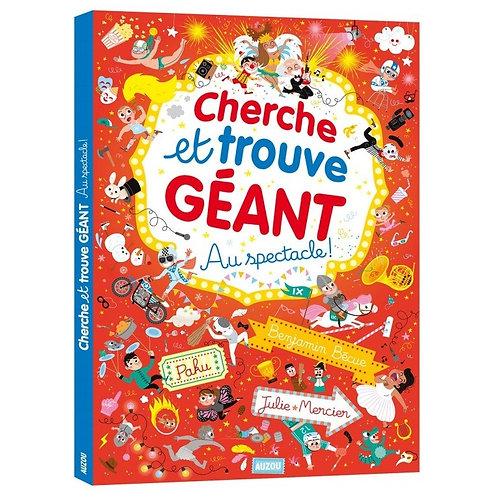 """Cherche et trouve géant """"Au spectacle"""""""