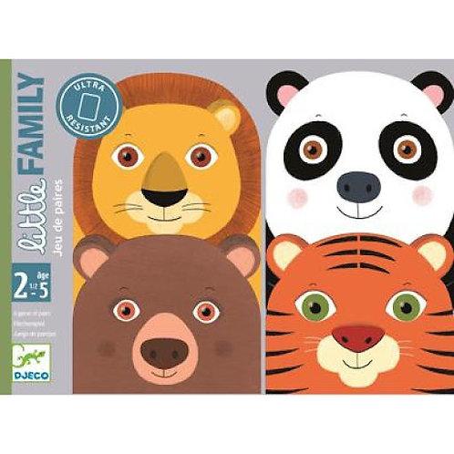 Little Family - Jeux de cartes des tout-petits DJECO