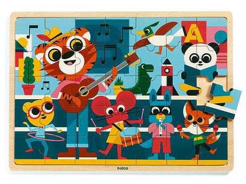 Puzzlo music - Puzzles éducatif bois DJECO