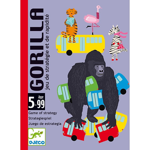 Gorilla - Jeux de cartes DJECO