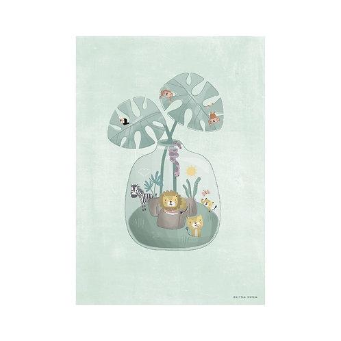 Poster A3 Mini Jungle Jar