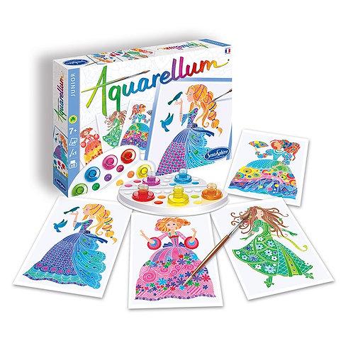 """AQUARELLUM JUNIOR """"Princesses Fleurs""""  -  Sentosphère"""
