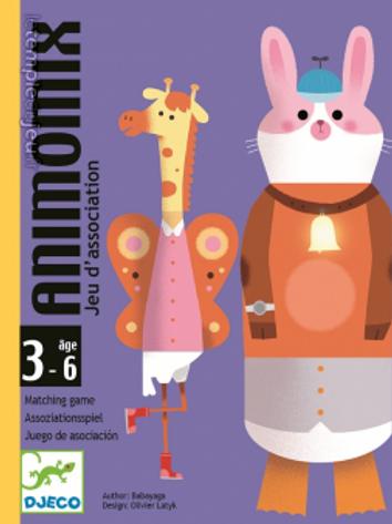 Animomix - Jeux de cartes DJECO