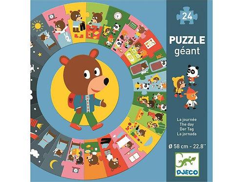 La journée - Puzzles géants DJECO