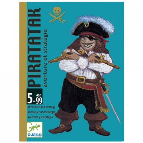 Piratak - Jeux de cartes DJECO