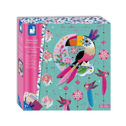 COFFRET MULTI-ACTIVITES 11 DECOS GIRLY