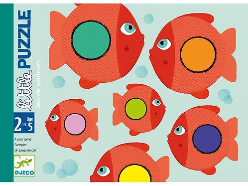 Little Puzzle - Jeux de cartes des tout-petits DJECO