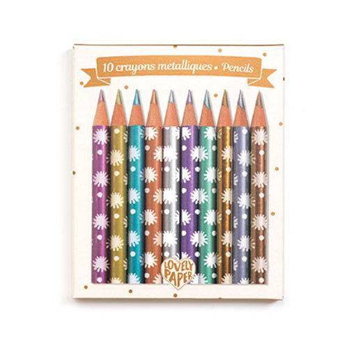 Crayons métalliques