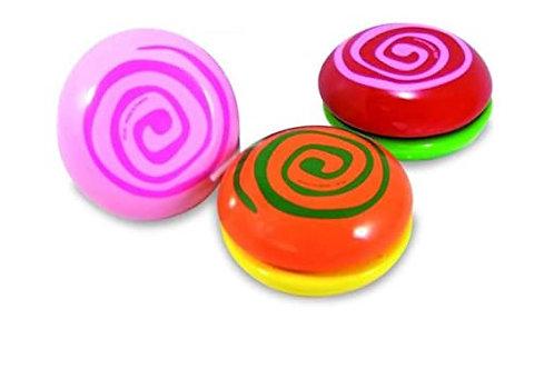 yoyos spirale bicolo