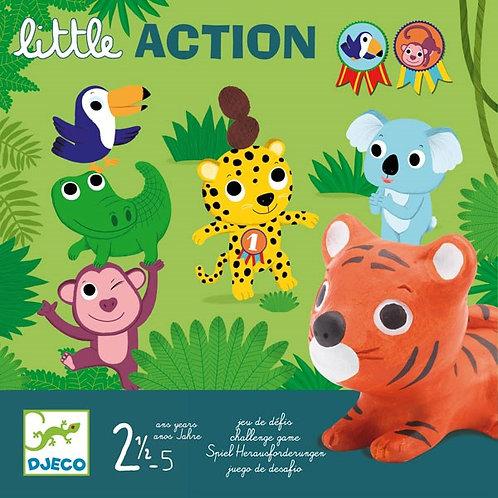 Little action - Jeux de cartes DJECO