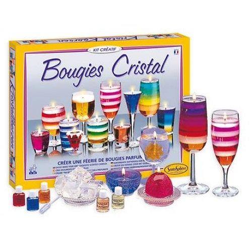"KIT CREATIF ""Bougies Cristal"" - Sentosphère"