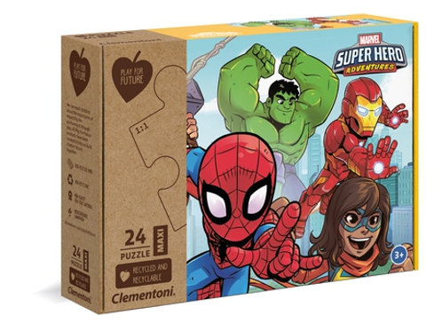 Marvel super héro-  24pcs maxi CLEMENTONI