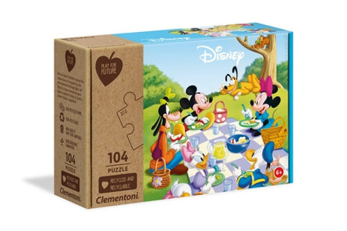 Mickey Mouse - 104 pcs maxi CLEMENTONI