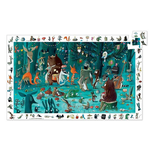 L'orchestre - 35 pcs - Puzzles observation DJECO