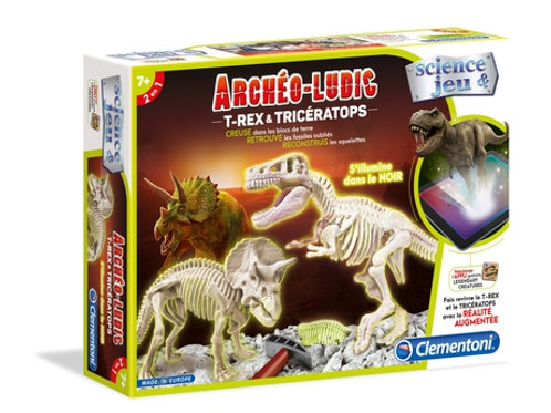 Archéo Ludic T-Rex & Tricératops
