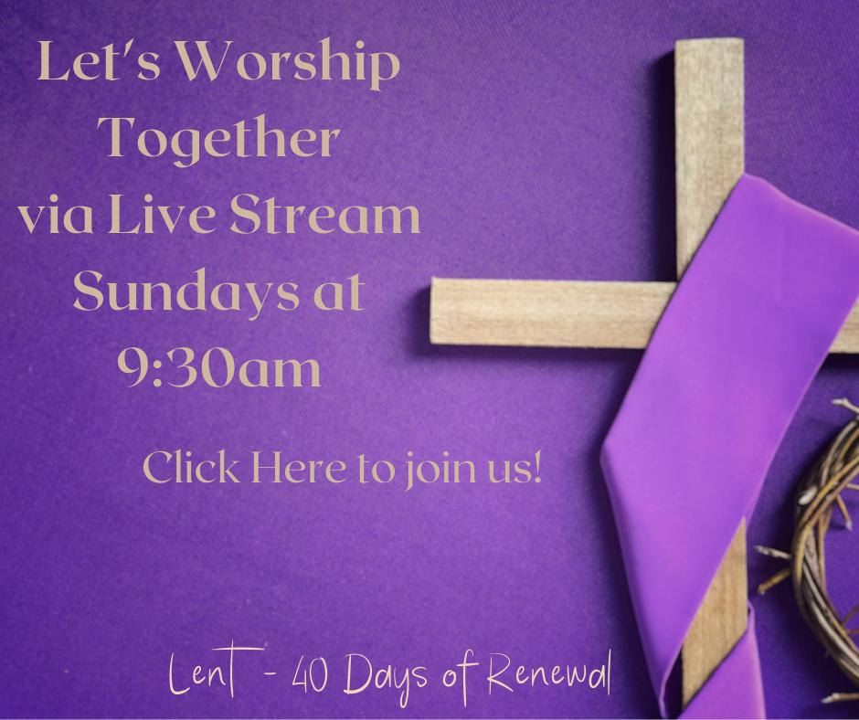 Lent Live Stream