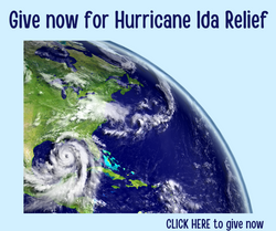 Give now for Hurricane Ida Relief
