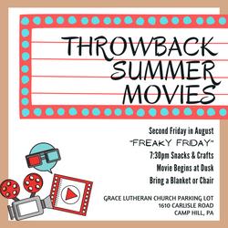 Summer Throwback Movie - August