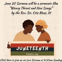 Juneteenth Sermon