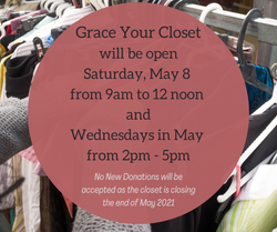 Grace Your Closet Closing