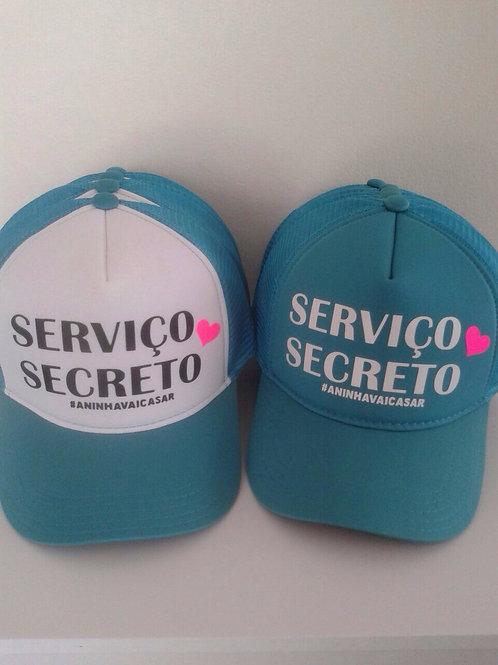 Boné Serviço Secreto