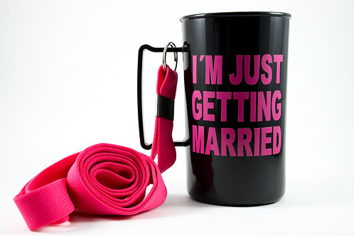 """Caneca """"I´m just getting Married"""""""
