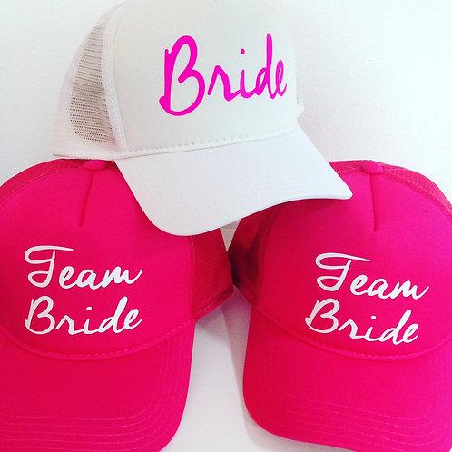Boné Team Bride
