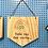 Thumbnail: Bandeirola madeira - Tudo vai dar certo arco-íris