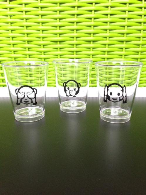 10 copos shots personalizados