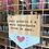 Thumbnail: Bandeirola madeira - Amor próprio é a mais...