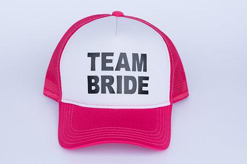 Boné Team Bride com frente branca