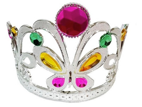 Coroa De Princesa Modelo Borboleta