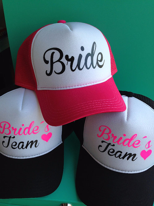 Boné Bride's Team