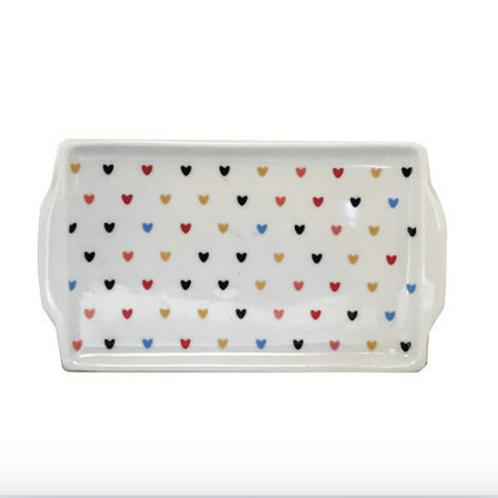 Bandeja Porcelana - Coração