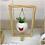 Thumbnail: Vaso bolinha c/suporte - Coração