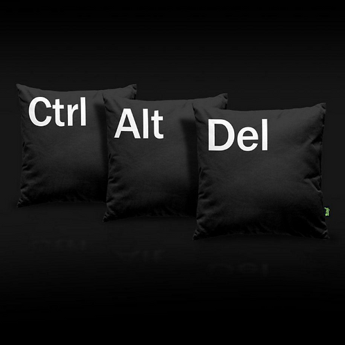 Kit Almofada - Ctrl Alt Del