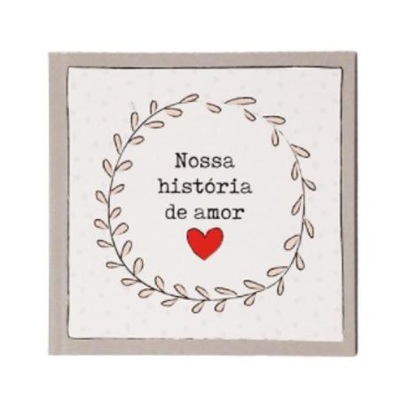 Livro presente - Nossa história de amor