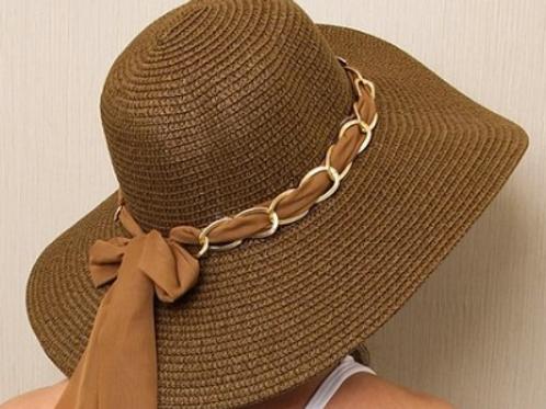 Chapéu marrom personalizado