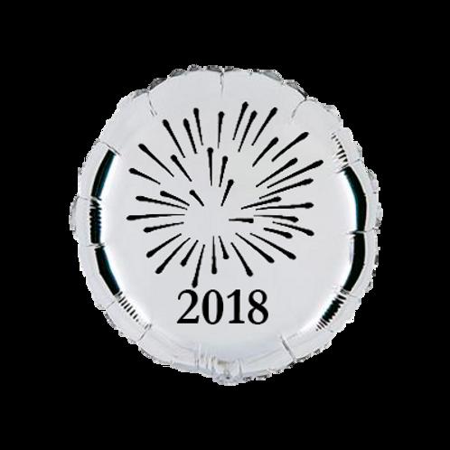 4 balões personalizados 2018