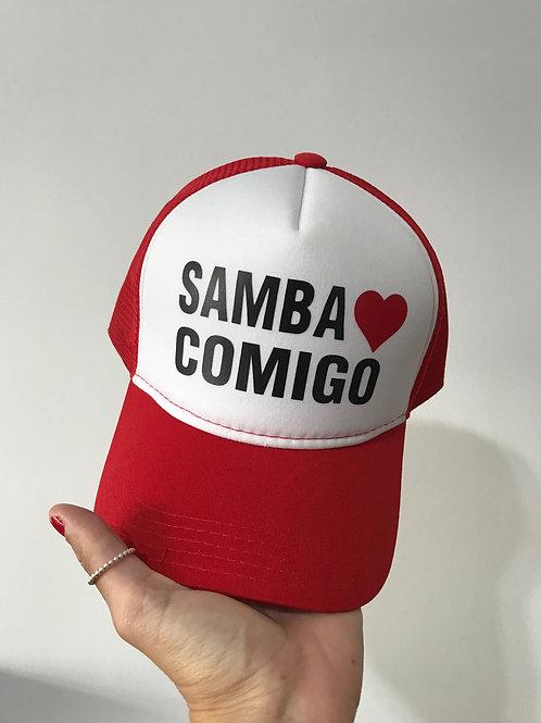 Boné samba Comigo