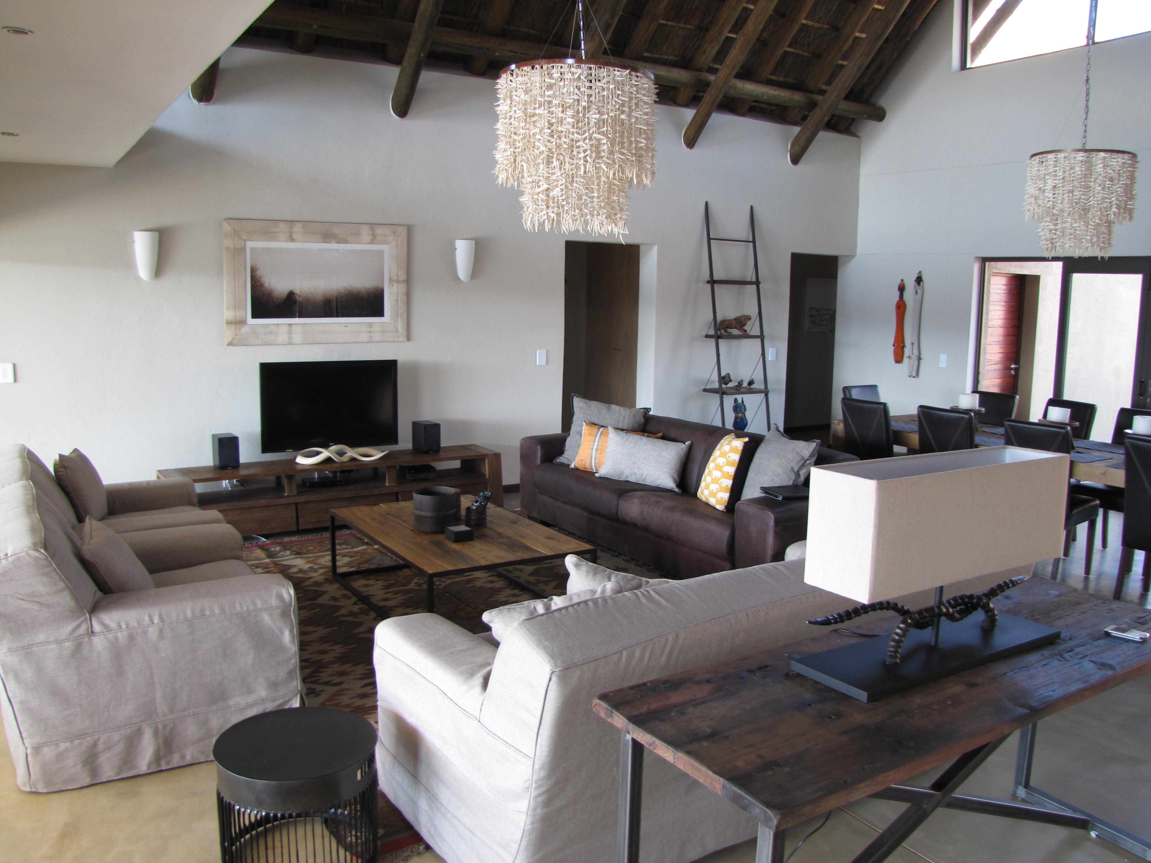 Mjejane Reserve - Lounge Area