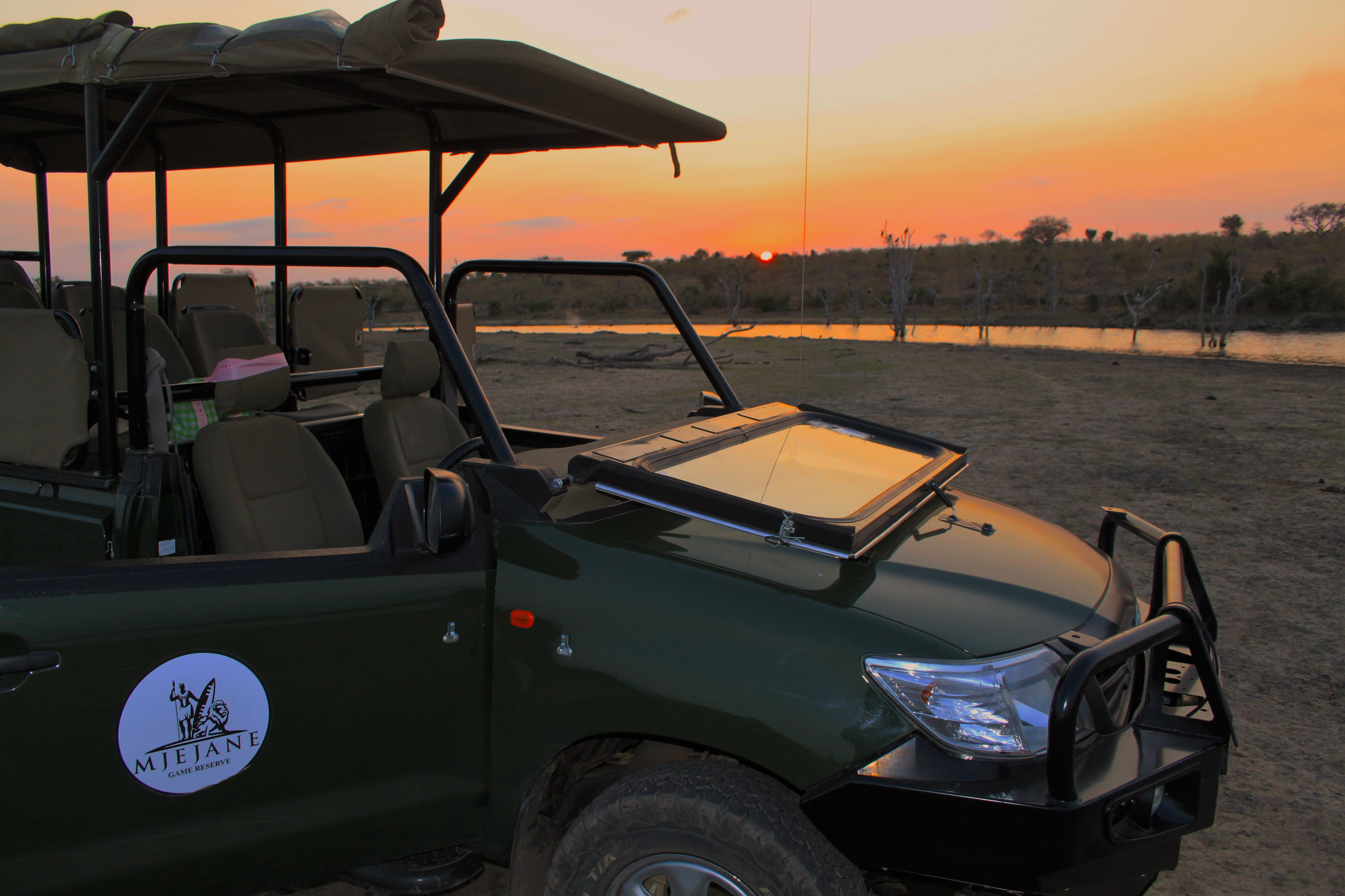Mjejane Game Reserve - Open Vehicle