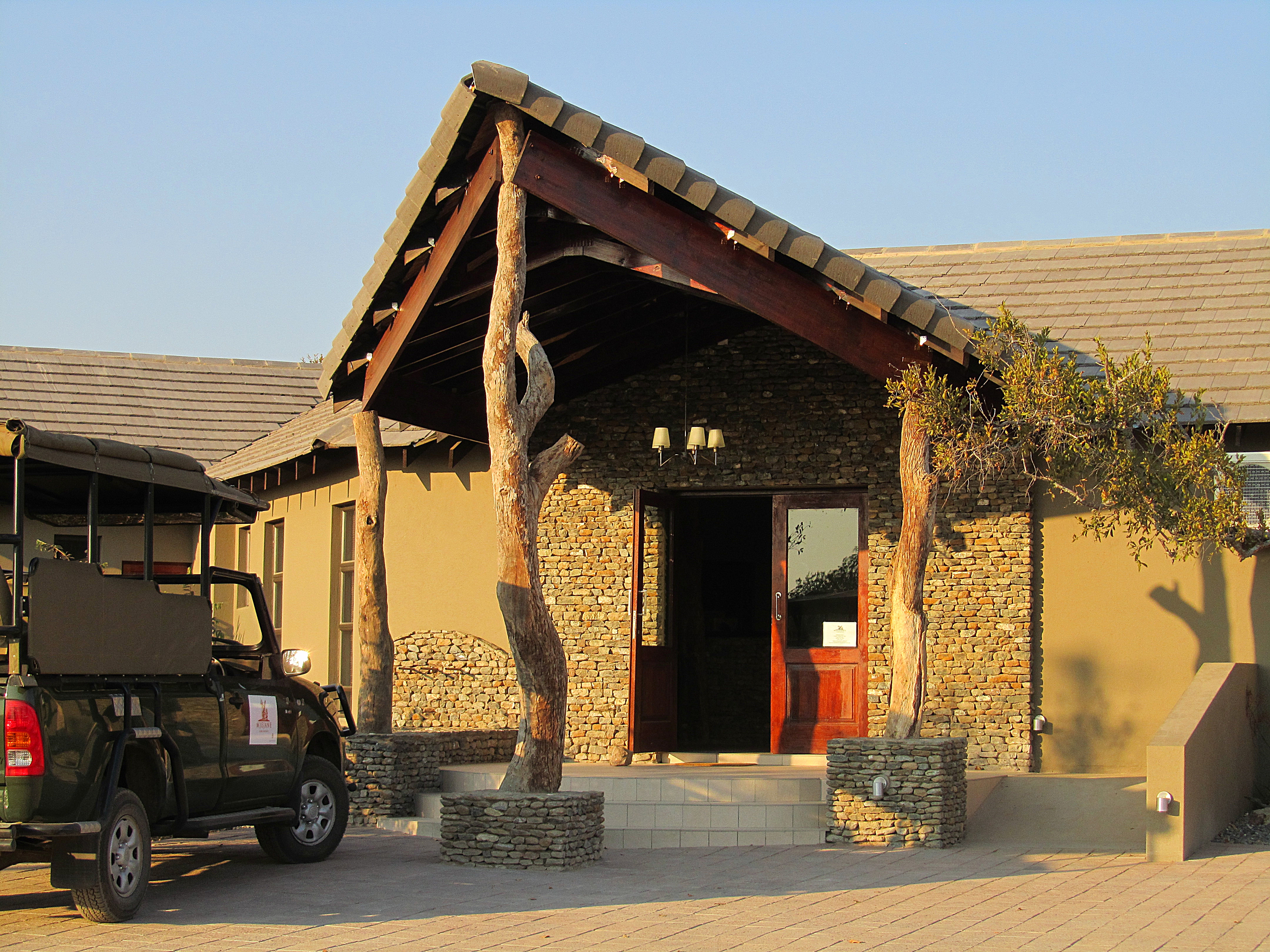 Mjejane Game Reserve - Entrance