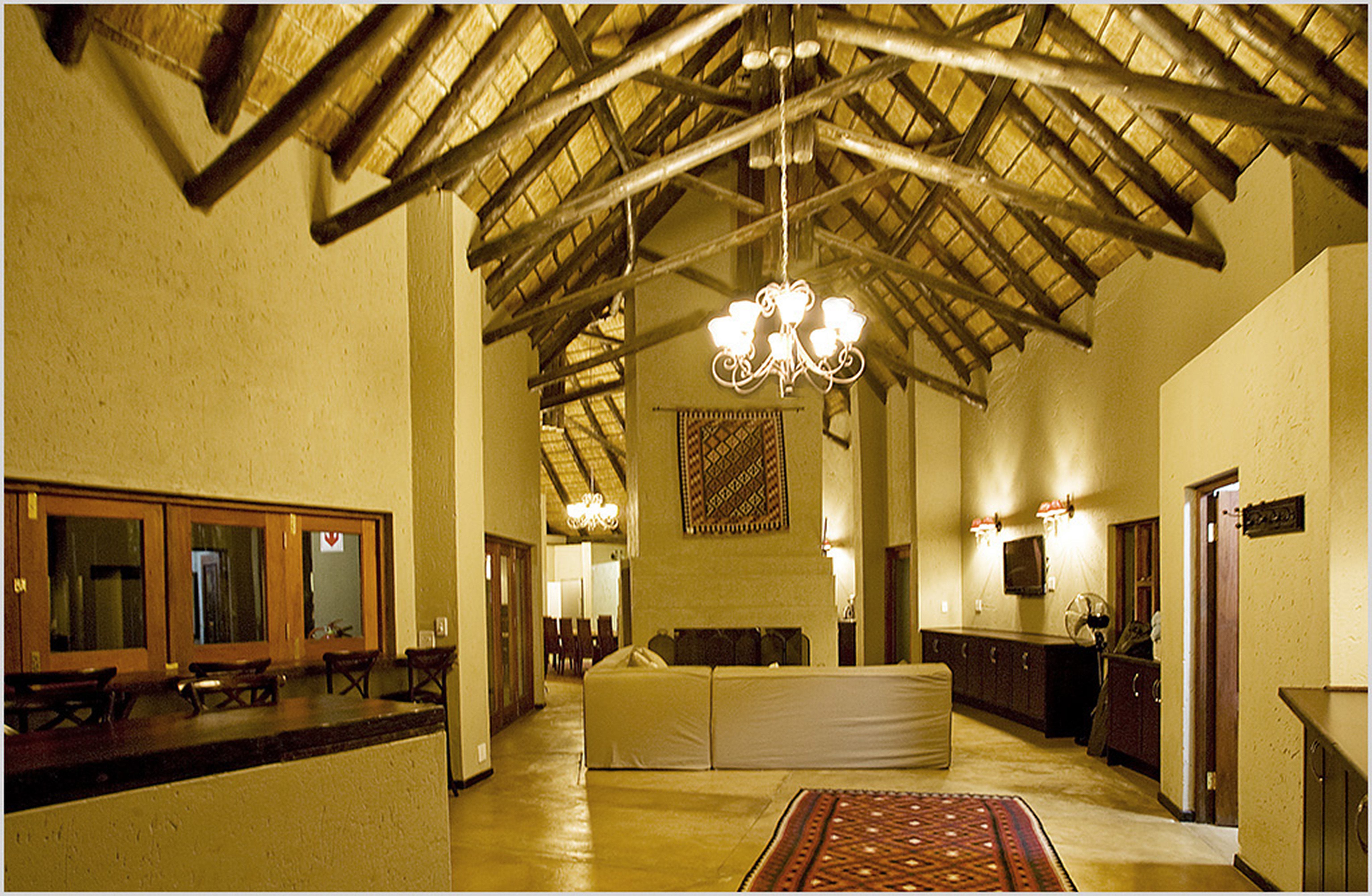 Black Rhino Lodge Interior