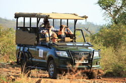 Private Game Drives on Black Rhino
