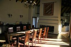 Dining Room in Black Rhino