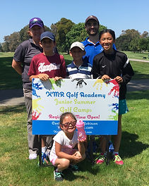 KMR Golf Academy Junior Summer Golf Camp