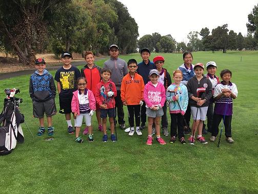 junior golfers