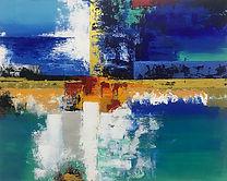 (대표작품)Lighthouse 90.9x72.7cm Acryl