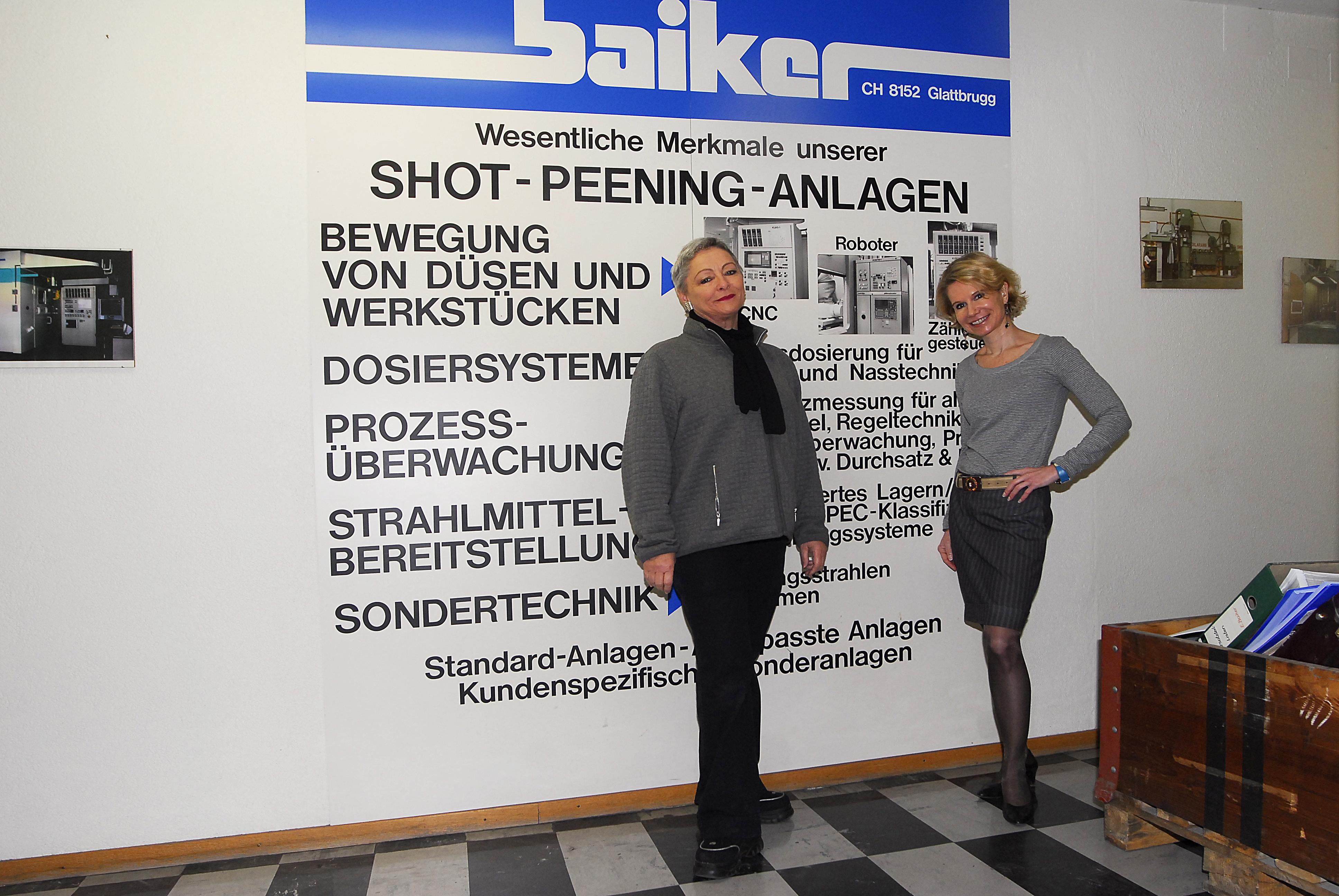 Schliessung Baiker AG